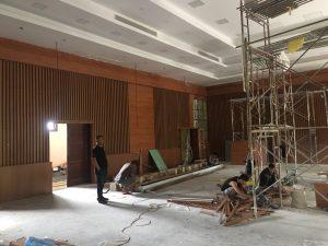 Lắp đặt máy chiếu cho trường trung học Tân Phú