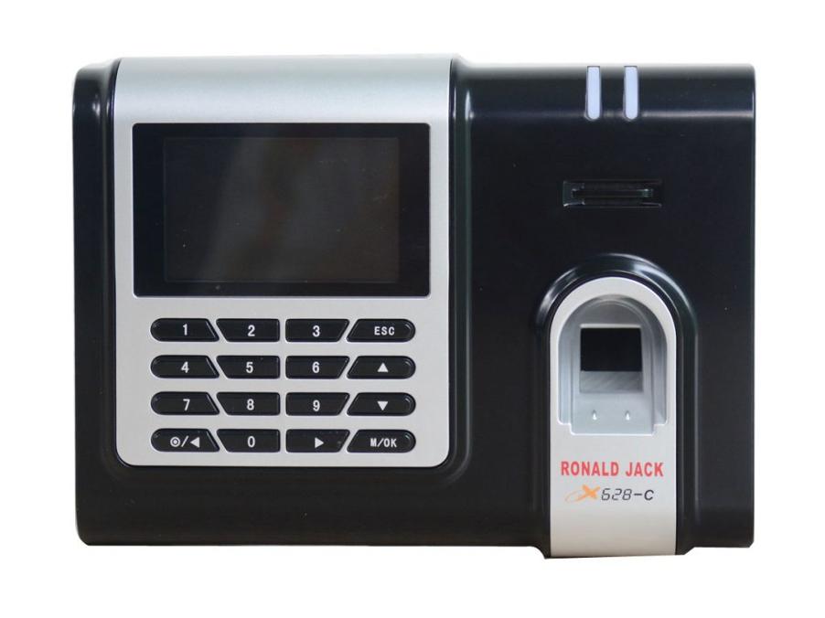 Máy chấm công X628-C tích hợp dấu vân tay và thẻ cảm ứng