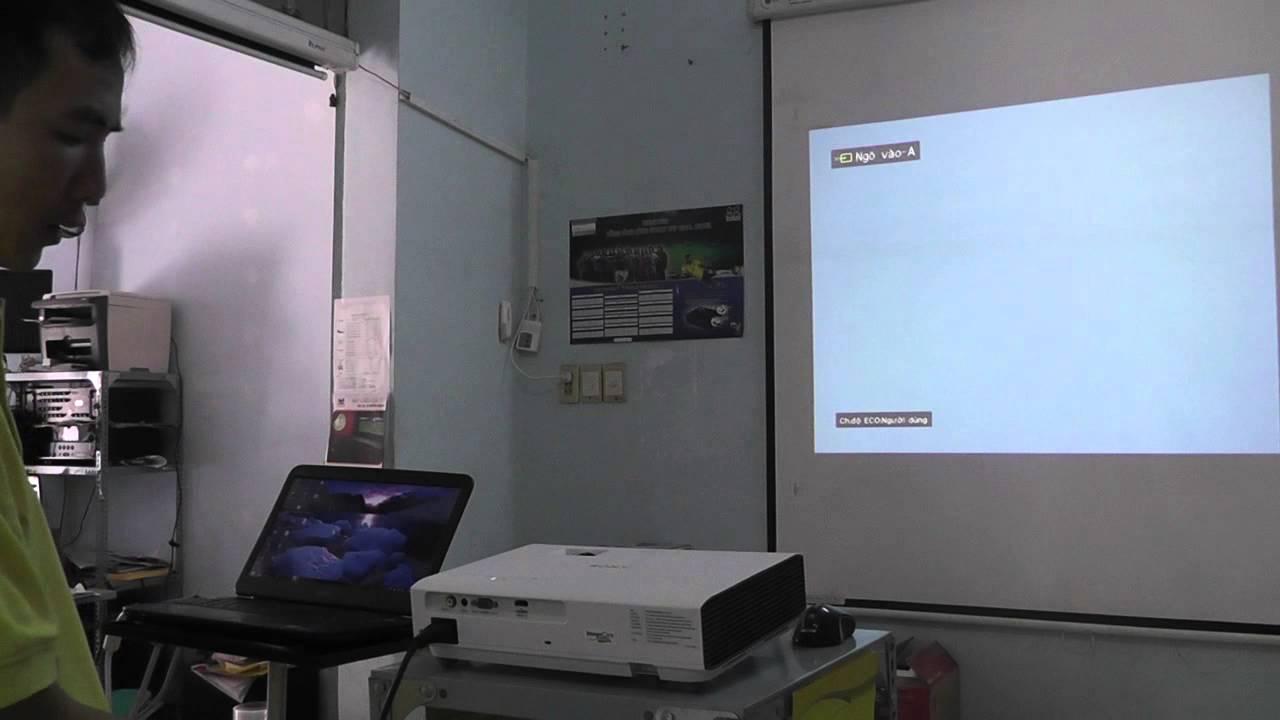 Máy chiếu không lên hình là lỗi thường gặp trong quá trình sử dụng