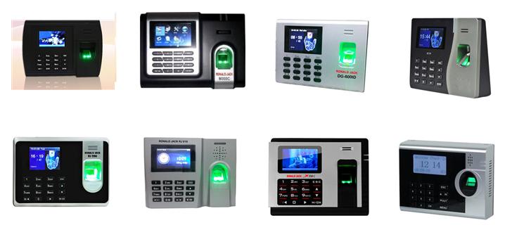 Có rất nhiều loại máy chấm công để khách hàng có thể lựa chọn